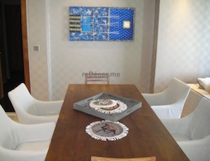 marina residences dubai interior design dining