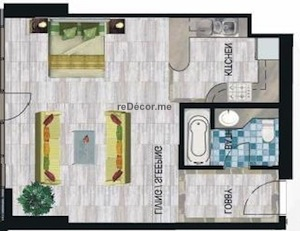 floor plan before interior design