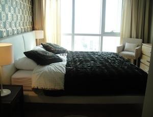 bedroom from bathroom.
