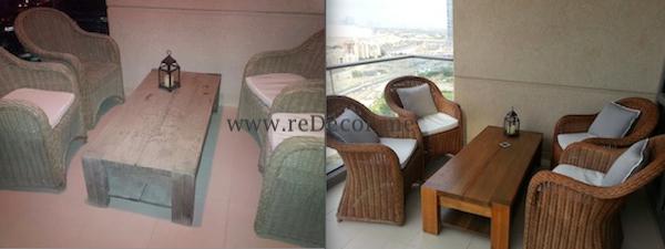 furniture makeover restoring old outdoor dubai