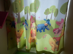 kids curtains design interior
