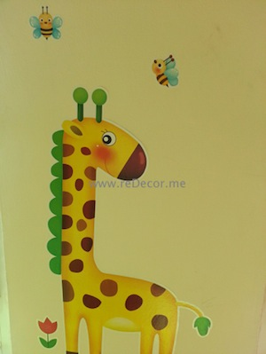 kids room interior stickers