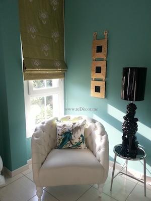 green gold bedroom decor