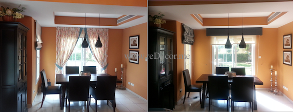 tailor made curtains change style of the room