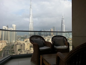 Living in Downtown dubai luxurious interior
