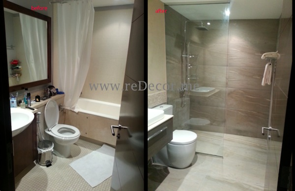 Bathroom renovations, remodelling, upgrade dubai