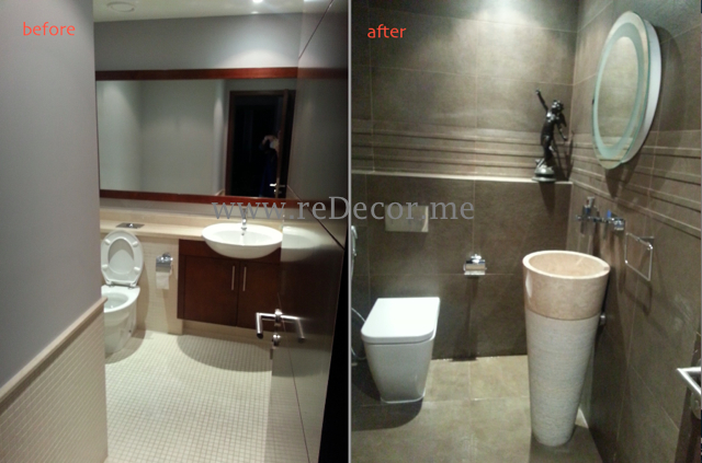 Bathroom renovation / remodelling Dubai downtown