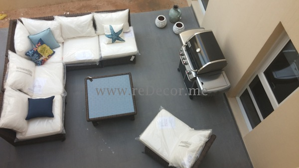 outdoors with pottery barn , interior decor consultation Dubai