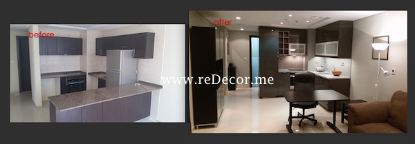 Remodelling bathrooms, kitchen in 1 bedroom apartment in Dubai Marina