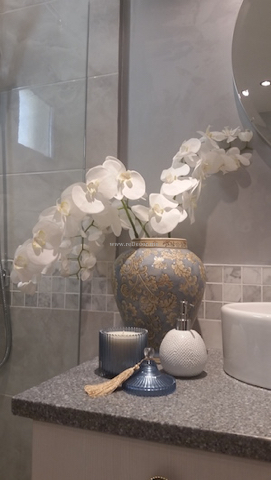 bathroom accessories, ceramic bathroom tiles Dubai, bathroom renovation Dubai interior decor and design, remodeling and design, grey marble bathroom, mosaic tiles
