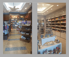 front shop, modern sliding door, shop renovation, modern souvenir shop, decor consultation, design, dubai, atlantis