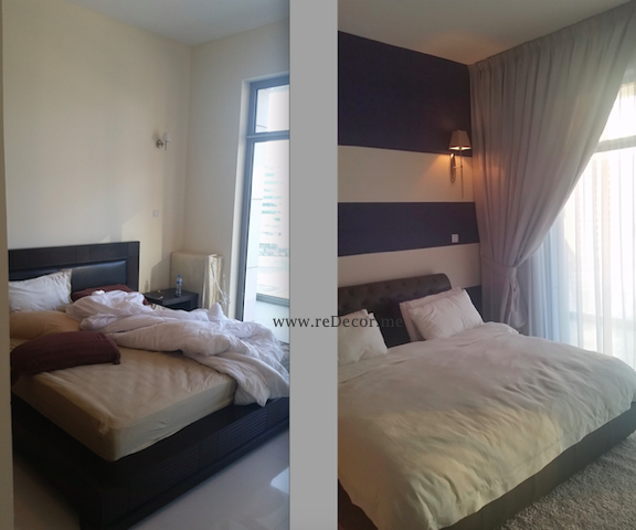bedroom makeover, tecom, interior decor, design, consultation, dubai