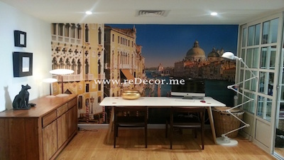 dining area decor and design, 3d wallpaper mr perswall dubai interior decor lofts dubai ideas