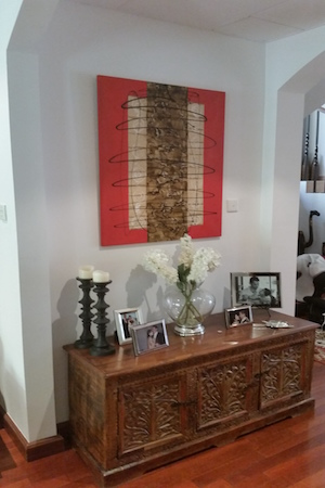 decorate hallway, entrance, traditional arabic modern living, decor, consultation dubai