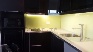 modern black ikea kitchen, remodelling, dubai by erika pace, decor and design, consultation