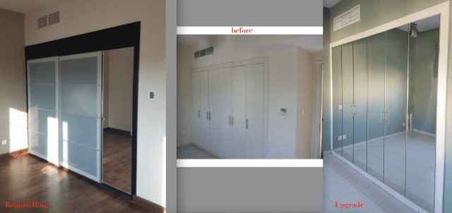 wardrobe fit out dubai design consultation Springs 4M makeover remodelling renovation