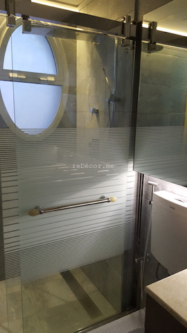 Master bathroom remodelling. Complete change to modern looks: walk in shower, squad, organised lighting, design consultation, lay out, dubai , springs villas, squad, healthy living, consultation, shower sliding door