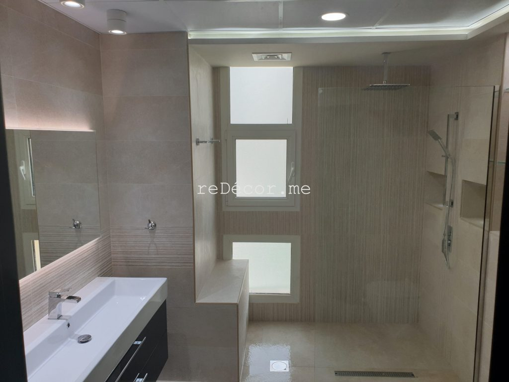 interior designer dubai,bathroom lighting, interior designer in dubai, master bathroom renovation in dubai marina, marina sail, fitout, remodelling, renovation, dubai interiors, bathroom design, led lighting bathroom, bathroom walk in shower, basin vanity, home  jacuzzi