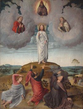 512px-Gerard_David.Transfiguration_of_Christ02