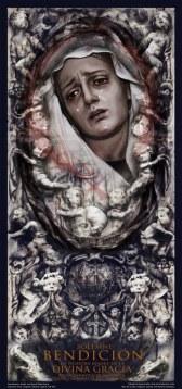 Cartel de la Bendición de Nuestra Madre de la Divina Gracia