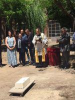 Colocación de la primera piedra del Museo de la Semana Santa