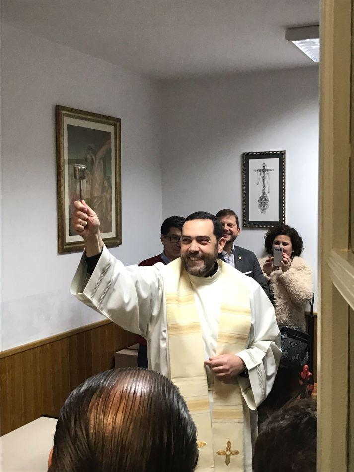 Bendición de la Sede de la Redención