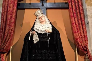 Ntra Madre permanecerá con el terno de salida durante Semana Santa