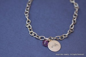handmade wish bracelet