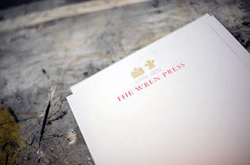 wren press stationery