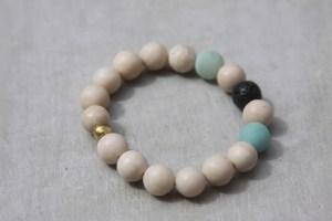 fossil beaded bracelet