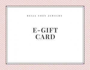 jewelry e -gift card
