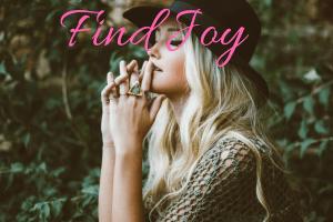 ways to find joy