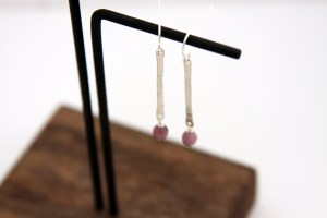 handmade silver earrings