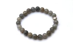 simple labradorite bracelet