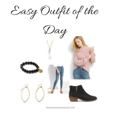 easy outfit of the day - Reija Eden Jewelry