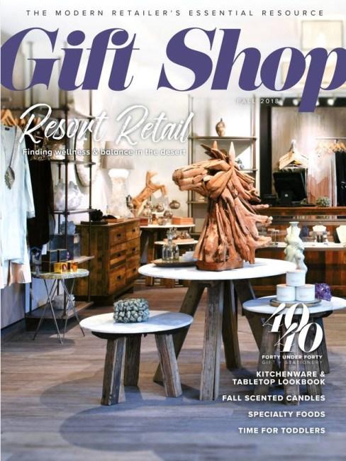 Reija Eden Jewelry featured in Gift Shop Magazine Fall 2018