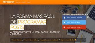 la aplicación también permite agendar publicaciones sin salir de la pantalla Foto: jhonmosquera.com