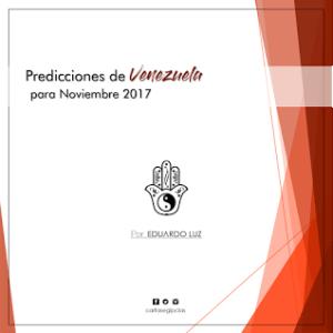 Predicciones de Venezuela para el mes de Noviembre