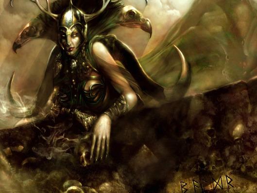 Loki, el maestro del engaño.
