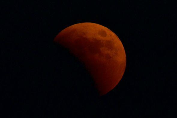 La Eclipsada SuperLuna Azul Sangre del 31 de Enero de 2018