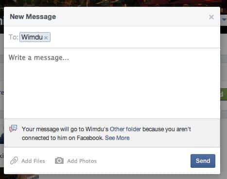 problemas mnsajes Facebook