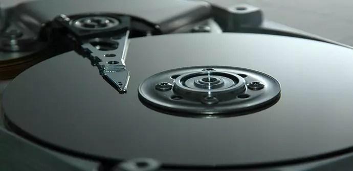 Plato de un disco duro