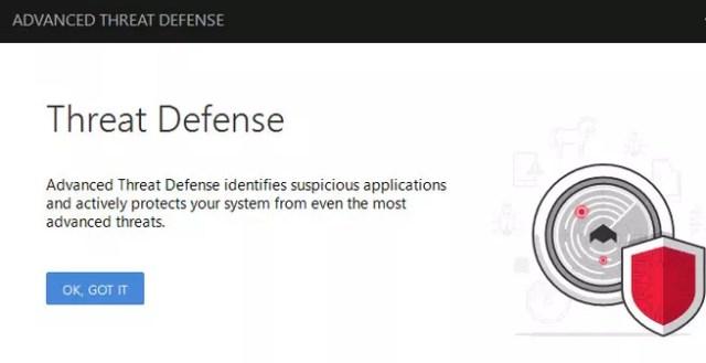 Defensa avanzada ante las amenazas