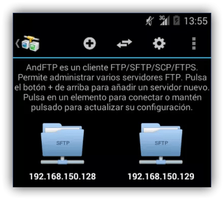 AndFTP para Android