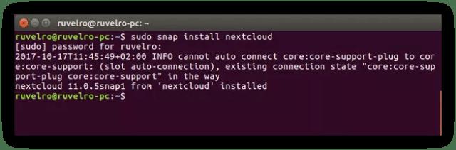 Instalar Nextcloud Ubuntu 16.04