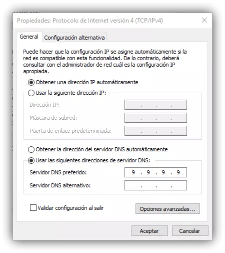 DNS IBM Windows
