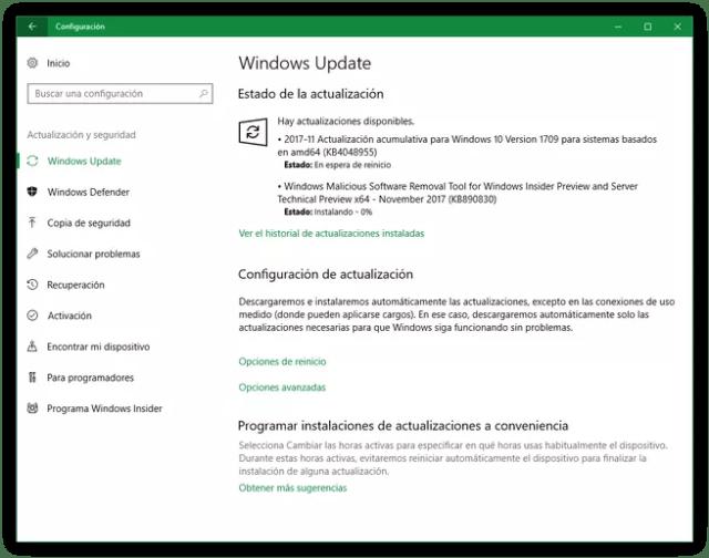 Parches seguridad Microsoft noviembre 2017