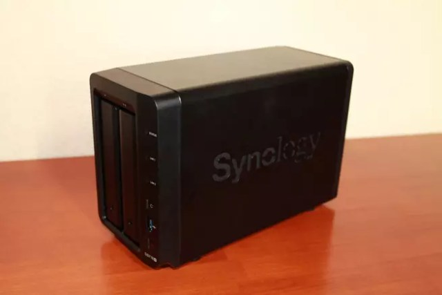 Frontal del NAS Synology DS718+