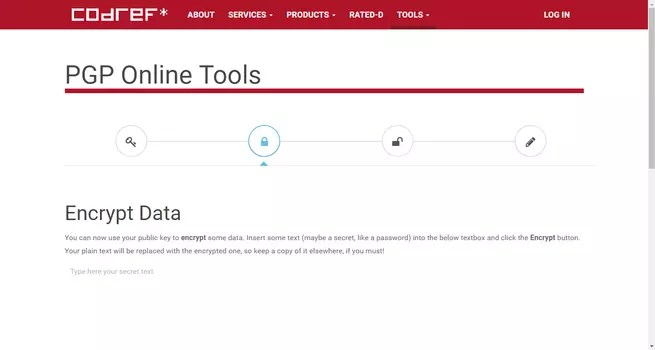 PGP Online Tools