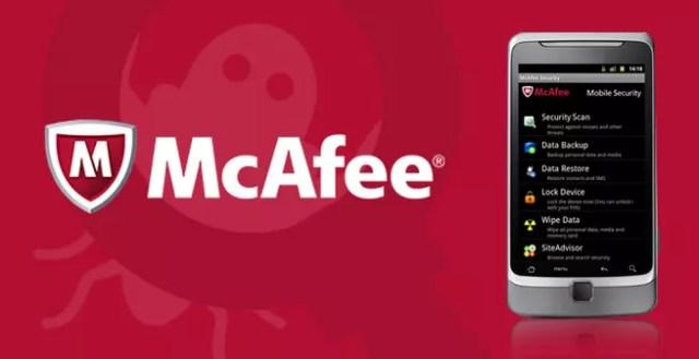 Antivirus McAfee para Android